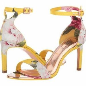 Ted Baker Bright Yellow Magnificent Ulanii Ankle 8